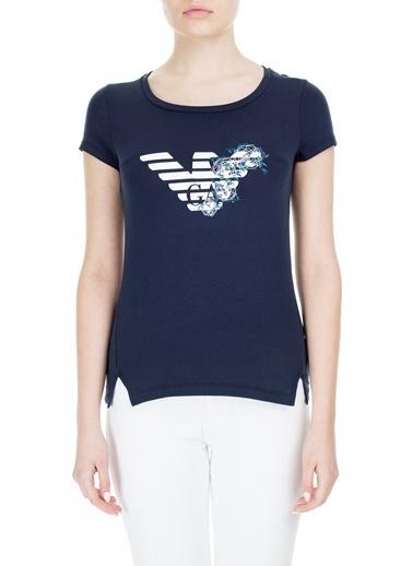 EA7 Emporio Armani  T Shirt Kadın T Shırt S 6Gtt23 Tj12Z 1554 Lacivert